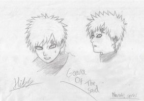 Gaara Of The Sand by EpicAnubisxD