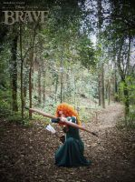 Merida - Brave cosplay by onlycyn