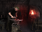 The Blacksmith Shop by IZSTEVE