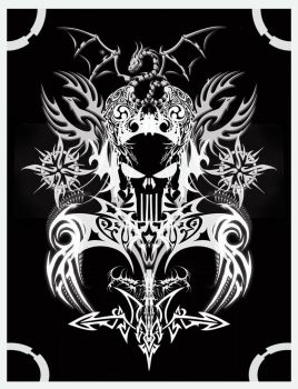 playing card backside design by foxguy823