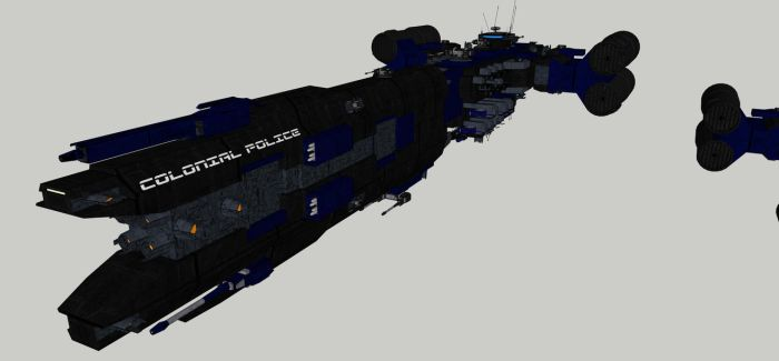 Police Strike Carrier by spyderrock48
