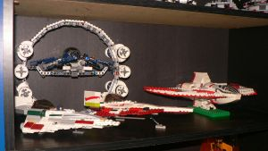 Lego Star Wars Collection Pt 1 by wingzero-01-custom