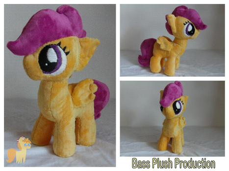Scootaloo Plushie by BassPlushProductions