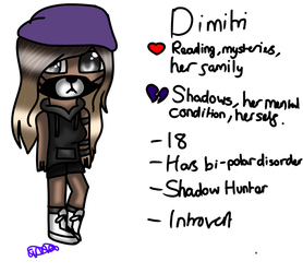 Dimitri (Monsters OC) by MinecraftLovesMedi