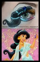 Disney - Princess Jasmine by sarahmitchellmakeup