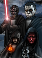 Four brothers by AraxussYexyr