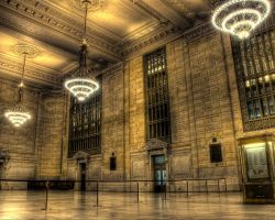 Grand Central side hall by spudart
