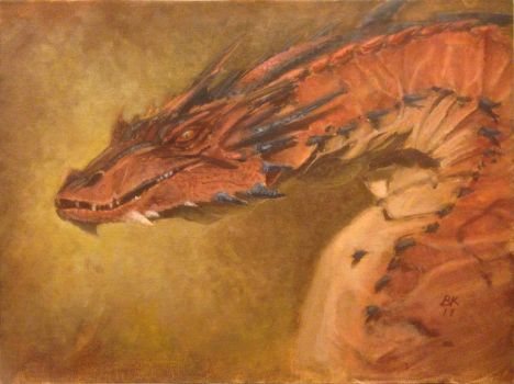 Smaug the Terrible by keeny