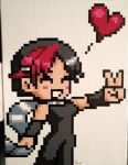 Knives Chau Pixel Painting by RubiksPhoenix