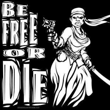 BE FREE OR DIE by chriscrazyhouse