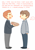 I love you THIS MUCH, Cas. by fangqian