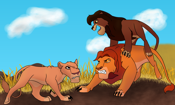 What if:  Zira had Won by gold-dragarn