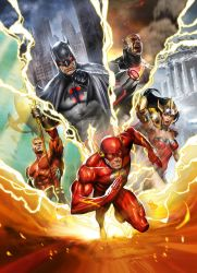 JLA: Flashpoint Paradox by Dave-Wilkins