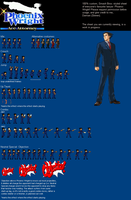 Phoenix Wright sprite sheet by Damian2841