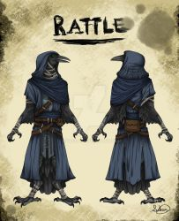 [OC] Rattle the Rogue Kenku by IcyBeat