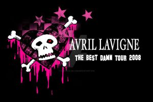 Avril Lavigne Tour Tee 1 by nathanielwilliam
