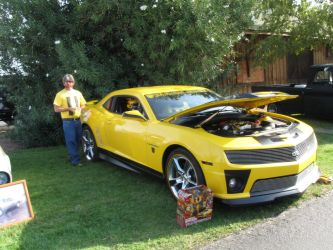 Bumble Bee like car by PeacemakerUta