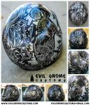 Evil Gnome Customs Sharpie Helmet Showcase Image by RehanaKn