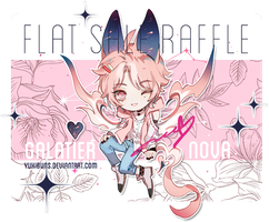 [galatier] flat sale raffle [closed thank you !!] by yukibuns