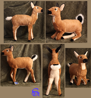 Doe-plushie FOR SALE by IsisMasshiro