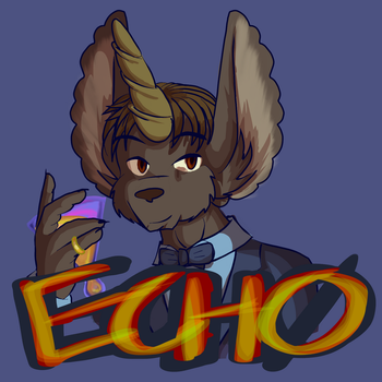 Badge - Echo the Kaydin by lastres0rt