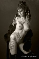 GOTHIC BEAUTY 09 by ChrisM-Erotic