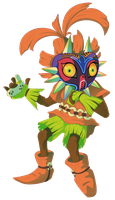 Majora's Mask - Skull Kid by SerifDraws