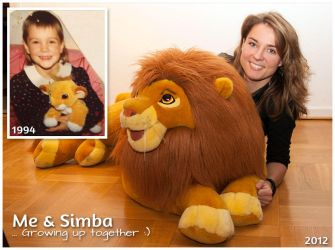 Me and Simba by frk-stender