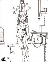 The Fantastical Robotic Woman by JazzLizard