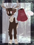 thats one depressed Caribou | Custom by Pixy-Anna