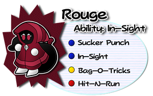 Paper Mario UB: Rouge by AntsyLaMasque
