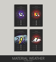 Material Weather  by HipHopium