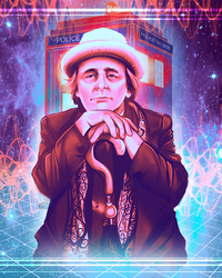 Doctor Who - Sylvester Mccoy by Kachumi