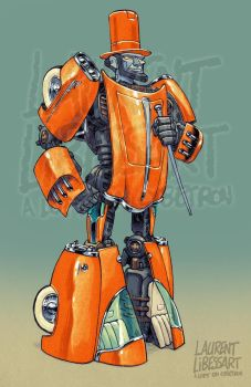 Gobot-Indy-Lincoln by a-loft-on-cybertron