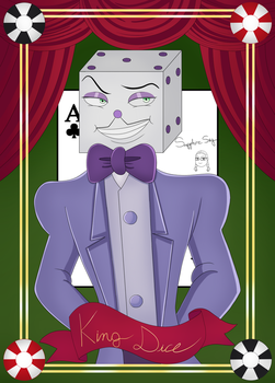 King Dice card by SapphireSky1992