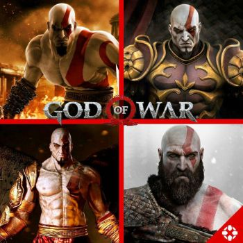 Kratos has been aging like a fine wine. by SirSkullReed