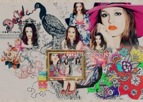 Leighton Meester in colors by pistacjowa
