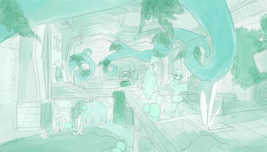 Inside Skyview (WIP) by aryllins