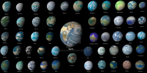 earth and the 50 spacer worlds by first settled by megaduce