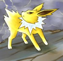 Example: Jolteon by cerasly