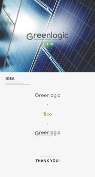 Greenlogic logo by 5tag