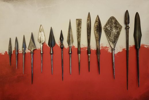 Tanged Arrowheads by F161
