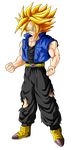Trunks Super Saiyan (ascended) by Goku-Kakarot