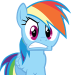 Rainbow Dash isn't pleased by DabuXian