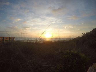 Space Coast Sunrise 26 Feb, 2015 by LucidFusion