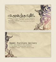 Naemi Gallery Card Visit by parmida-pro