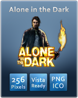 Alone in the Dark Icon by UltimateAoshi