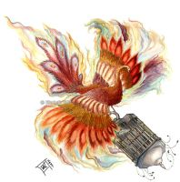 Firebird, Russian Fairy Tales by delightedmuse