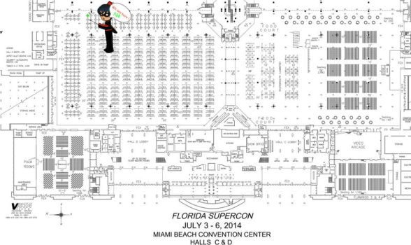 Supercon Map 2014 by dickiejaybird