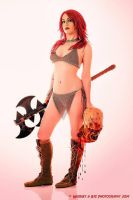 Red Sonja Movie style by AngelWolf22